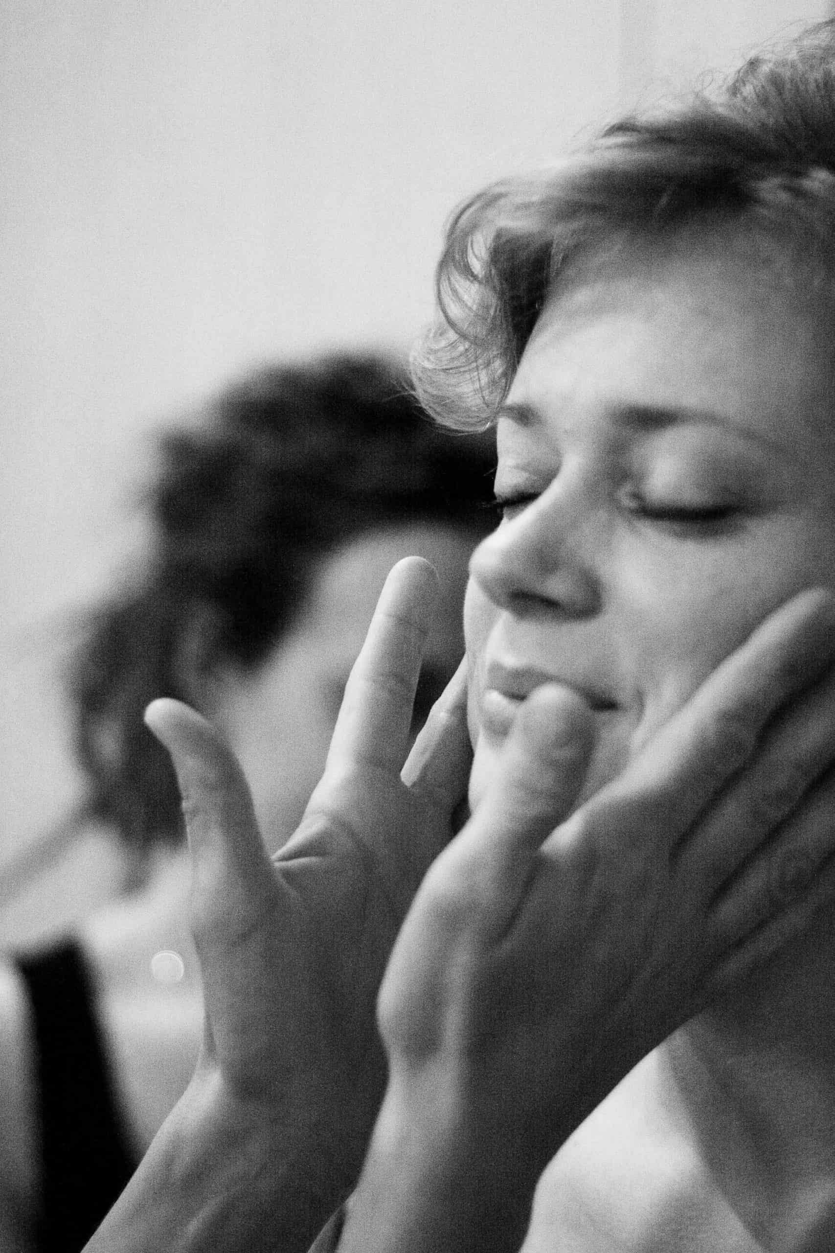 Aanraking zorgt voor endorfines en dat helpt om gezond te blijven